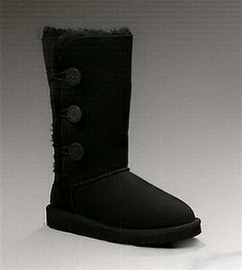 Kids UGG Bailey 1962 Black Boots