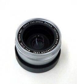 Fujifilm WCL-X100 wide converter lens (compatible X100 X100S X100T X100F)