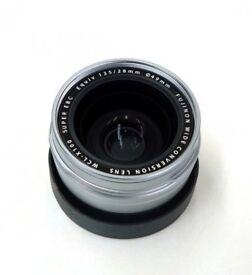 Fujifilm WCL-X100 wide converter lens (compatible X100 X100S X100T X100F)