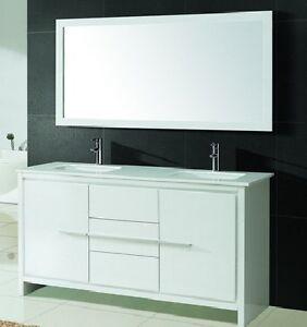 ⎷⎛Contemporary Bathroom Vanity & Cabinet Formosa FM60D