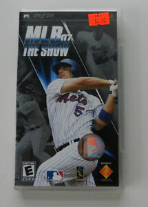 MLB07 The Show PSP Game