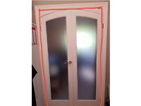 Curved Top Internal French Doors+Top Frame