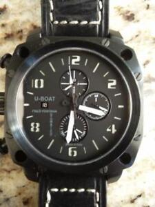 U-Boat Thousands of Feet Chrono 50mm PVD Destro - Ltd Edition