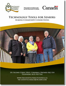FREE Technology Tools Booklet For Seniors 55+ Cornwall Ontario image 1