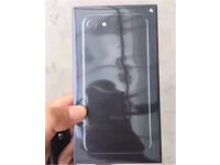 JET BLACK iphone 7, 256gb sealed unlocked with apple receipt!!