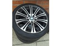 "BMW 18"" M3 REPLICA ALLOY WHEEL"