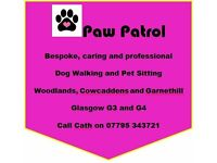 Paw Patrol: Dog Walking and Pet Sitting - Woodlands, Cowcaddens and Garnethill, Glasgow G3 and G4
