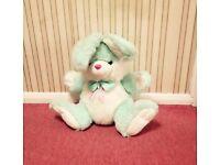 Cuddly Green Bunny!! (machine washed)