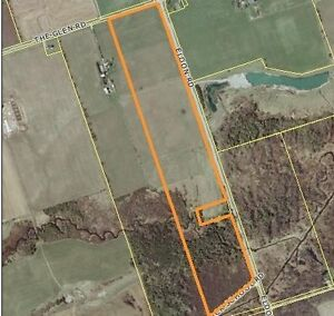 68.23 Acres Of Farm Land Fronting On 3 Country Roads