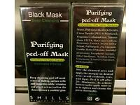 Shills black peel off face mask as seen on TV