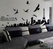 Eiffel Tower Removable Wall Sticker