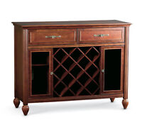 "WINE CABINET by BOMBAY Co. ""Alexander style"" LIKE NEW"