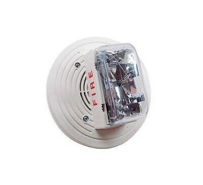 Simplex 4906-9154 Ceiling Fire Alarm Speaker Strobe - White
