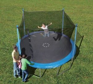 Trampoline with safety enclosure, NEW in box