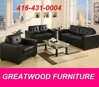 MODERN STYLE CONDO SIZE SOFA....$499 ONLY