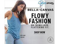 Bella + Canvas 8838 Ladies Flowy collection