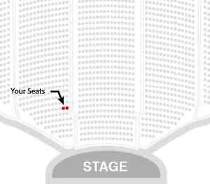 John Cleese and Eric Idle - Friday show, row 2 aisle!