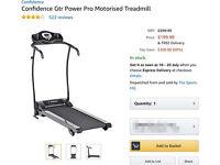 Confidence Power Pro Motorised Treadmill