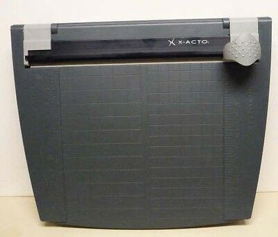X-acto 12 Rotary Paper Trimmer With Plastic Base