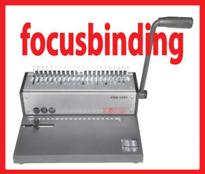 New manual Heavy Duty Metal Cerlox Comb Binding Machine