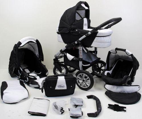 kinderwagen 4 in 1 ebay. Black Bedroom Furniture Sets. Home Design Ideas