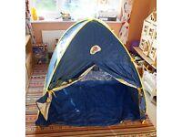 SunSense popup sun tent