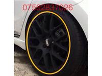 Alloy wheel protection Ford Fiesta Focus RS ST Vectra Astra Corsa SRI SXI VXR Adam Honda Civic TypeR