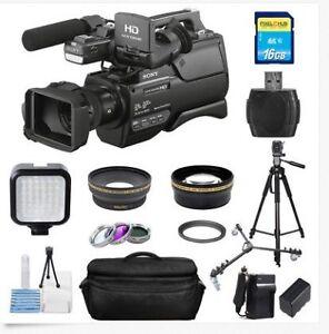 Sony HXR-MC2500E PAL Shoulder Mount AVCHD Camcorder PRO BUNDLE!