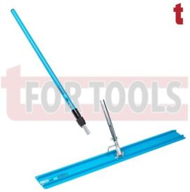 OX TOOLS CONCETE LAYING ALUMINIUM BULLFLOAT BULL FLOAT AND POLE HANDLE