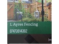 Fence installer