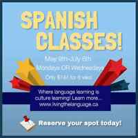 Group Spanish Classes Starting May 9th!