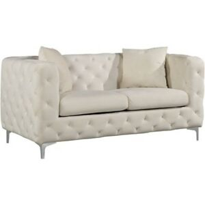 NEW Maubray Chesterfield loveseat couch sofa