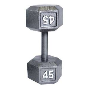 Dumbbell set (2 x 25lbs) $45  and (2 x 45lbs) $85