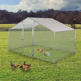 Animal All weather Galvanised Cage