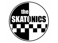 THE SKATONICS need new singer/frontman
