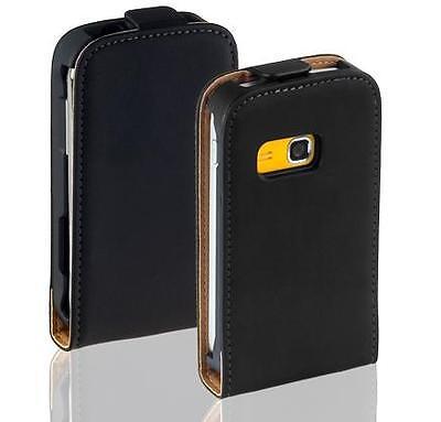 Samsung S6500 Galaxy Mini 2 - Housse Etui à Clapet Slim + 1 protection écran