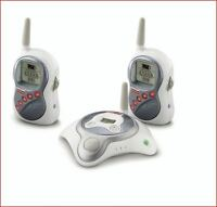 Safety 1st  Super Clear Baby Monitor With Two Receivers (Silver