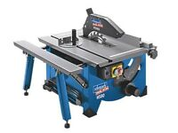 Scheppach HS80 Table Saw Used Once