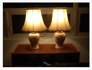 Table Lamps (pair)