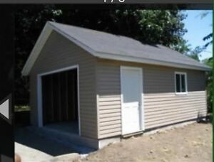 Garages starting at $9700 with 50 year shingles!!!