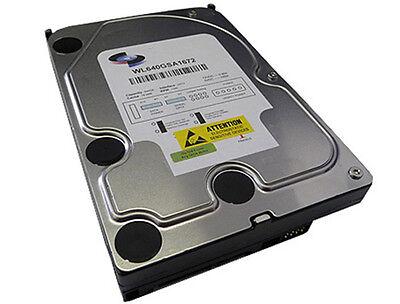 White Label 640GB 8MB Cache 7200RPM SATA Internal Desktop / CCTV DVR Hard Drive ()