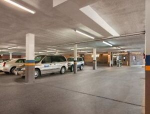 High-end building indoor parking 24-hour security and access