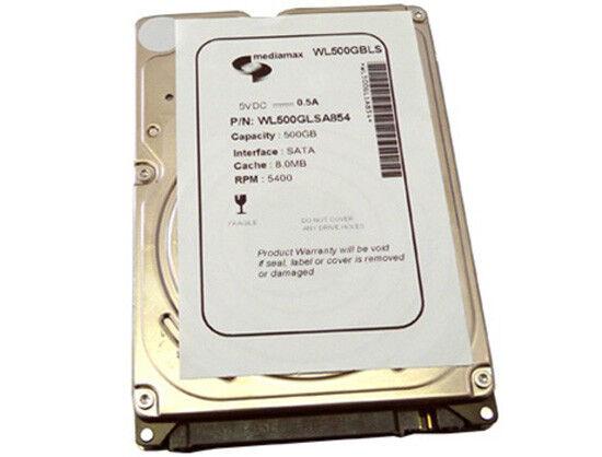 """WL 500GB 5400RPM 8MB 2.5"""" SATA Notebook Hard Drive (PS3 Fat, PS3 Slim, PS4 HDD)"""