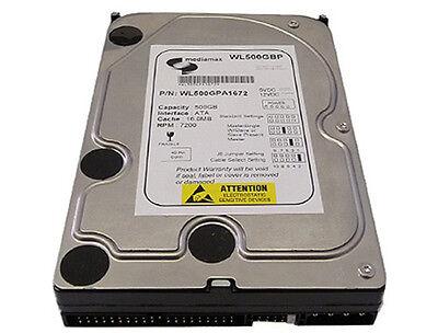 """New 500GB 7200RPM 8MB Ultra ATA/100 EIDE PATA 3.5"""" Internal Desktop Hard Drive"""