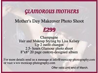 MOTHER'S DAY MAKEOVER PHOTO SHOOT!!!