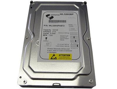"""New 320GB 7200RPM 8MB Ultra ATA/100 EIDE PATA 3.5"""" Internal Desktop Hard Drive"""
