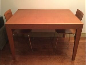 Calligaris Italian made dining table and chairs
