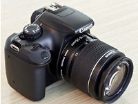 Canon 1100d with standard kit lens