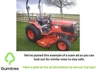Kubota B2710 - Tractor Mower - Read the description before replying to the ad!!