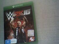 XBOX One WWE 2K16 Premium condition.